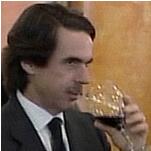 Aznar, el borracho.
