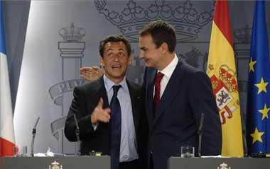 Sarkozy y la derecha española